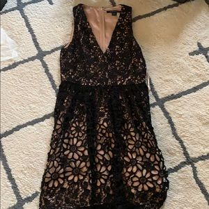 French Connection Fit and Flare Dress Size 8